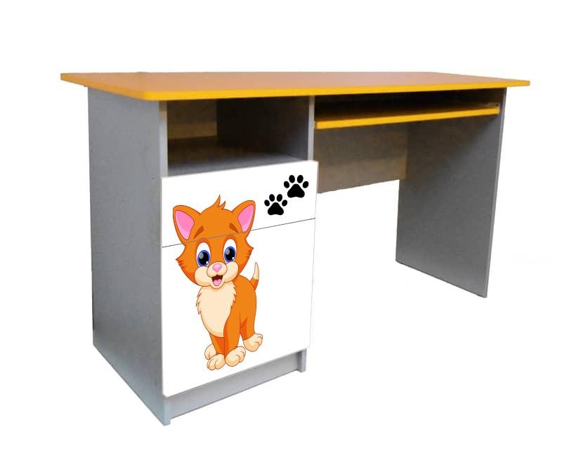 письменный стол котик
