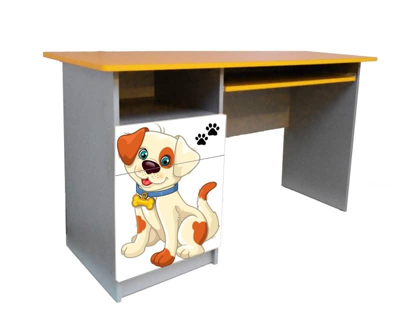 письменный стол с мульт собачкой
