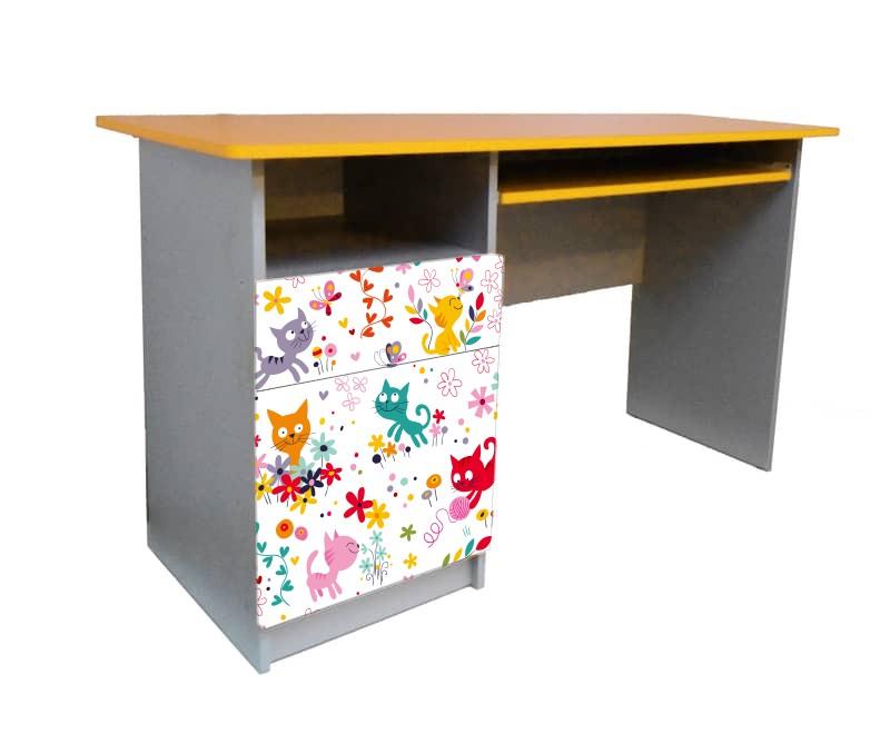 письменный стол котики