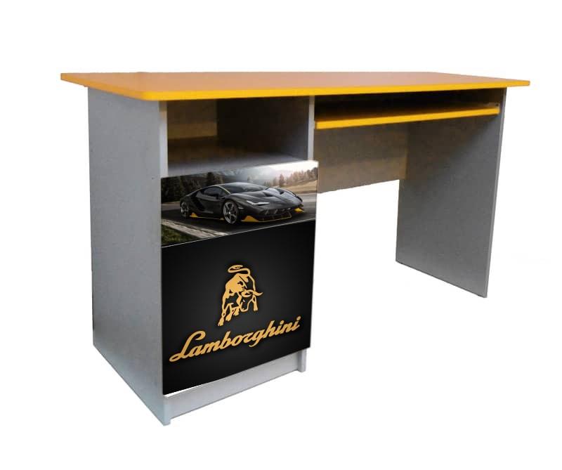 черный письменный стол ламборджини для мальчика