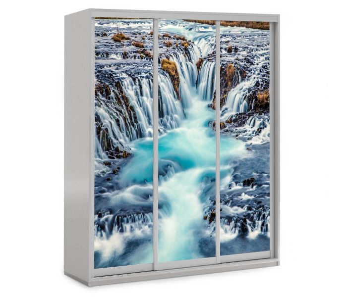 детский шкаф купе 3 двери водопад