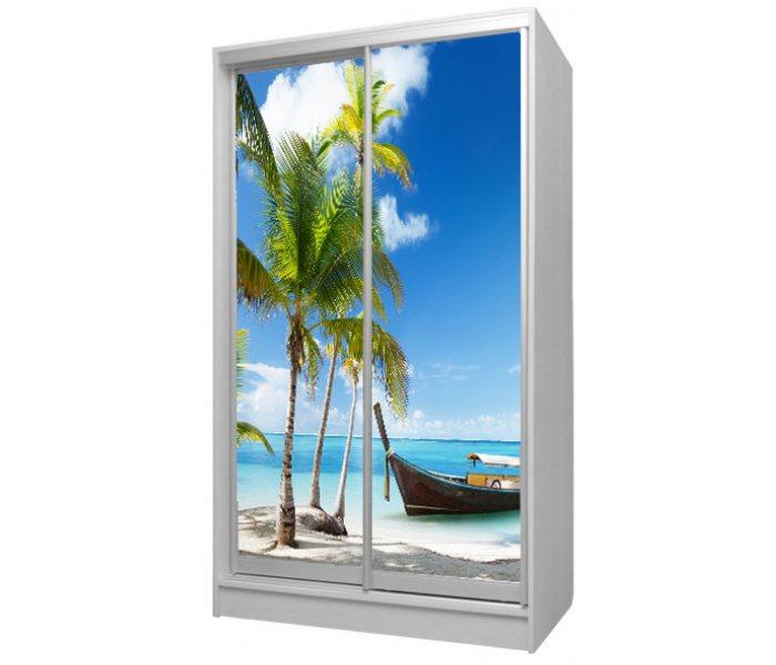 детский шкаф купе 2 двери пляж