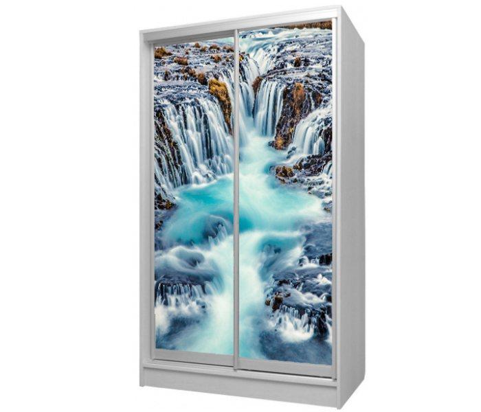 детский шкаф купе 2 двери водопад