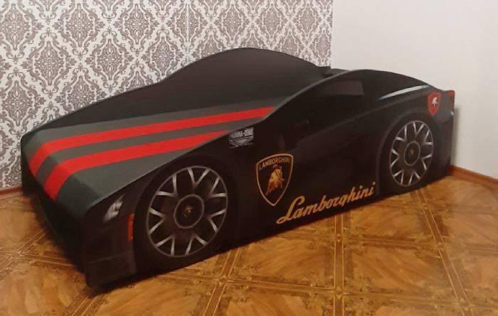 отзыв на кровать машину ламбо черная