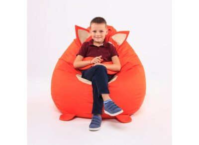 кресло мешок лисенок с мальчиком