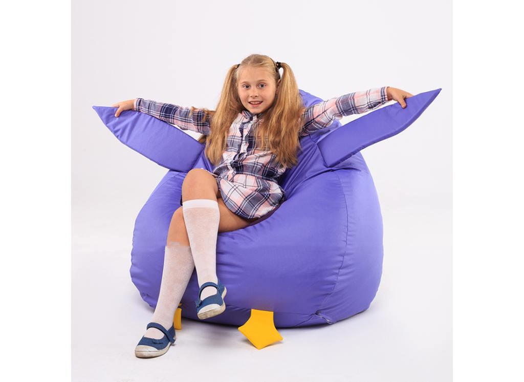 кресло мешок совушка с девочкой