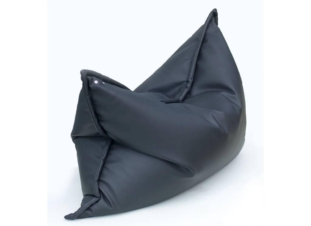 кресло мешок мат кожанное