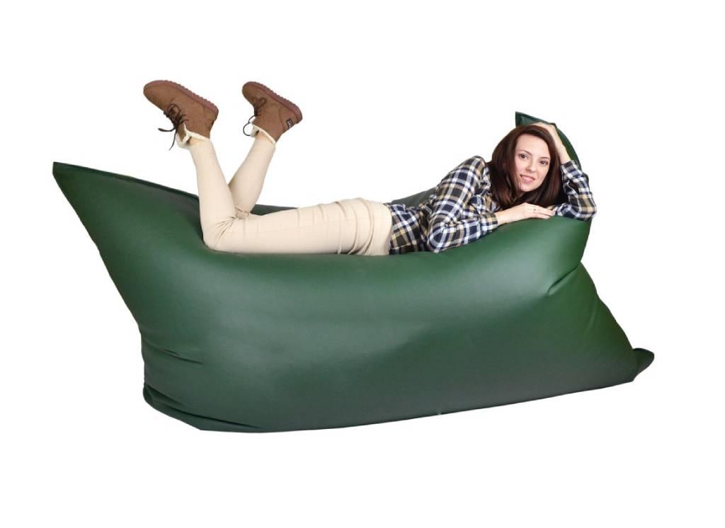 кресло мешок мат из кожи