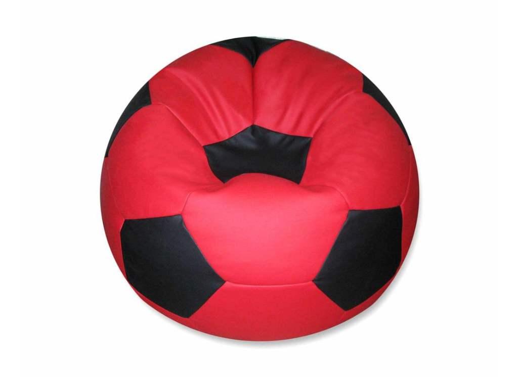 кресло мешок мяч красный