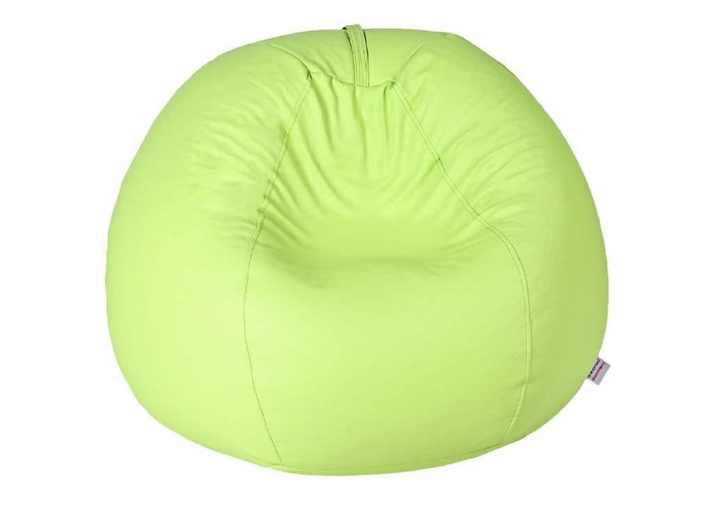 кресло мешок салатовое планет