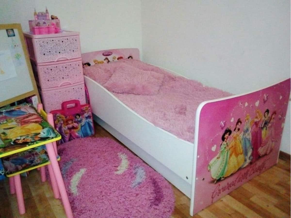 детская кровать киндер принцессы