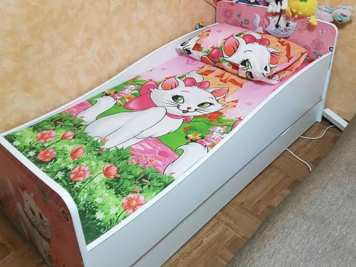 детская кровать киндер кошка мери