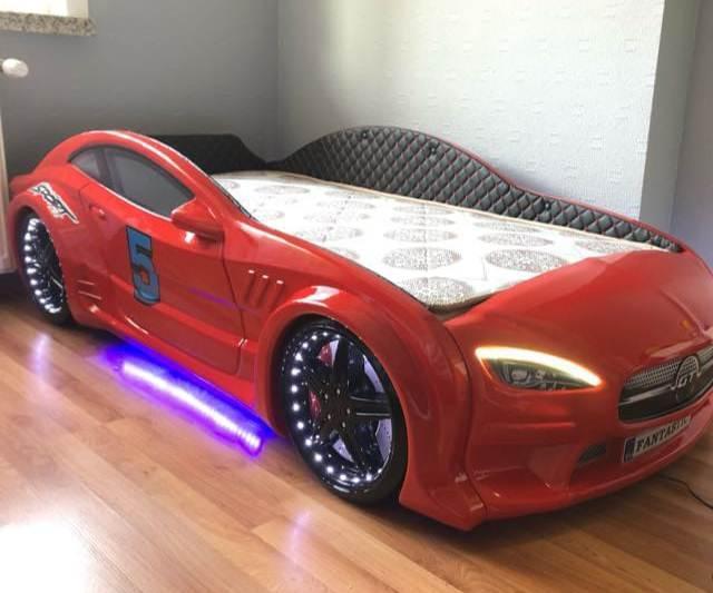 детская кровать машина из пластика мерседес