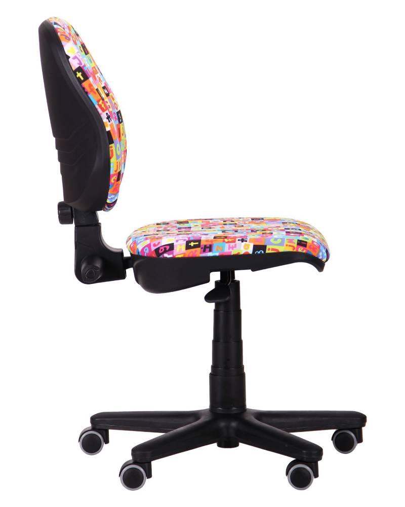 компьютерное детское кресло актив сбоку алфавит