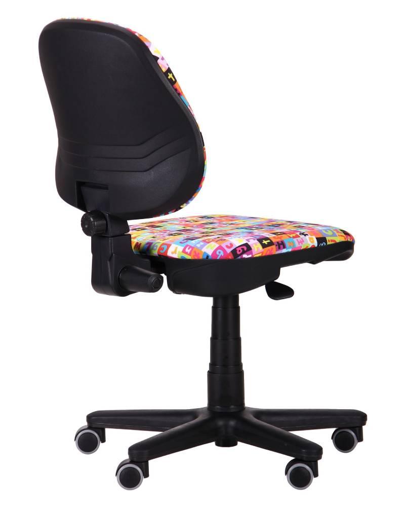 компьютерное детское кресло актив сзади алфавит
