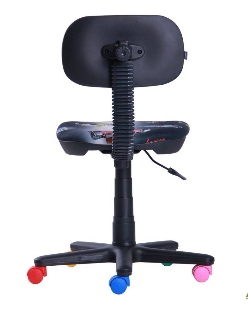 детское компьютерное кресло бамбо сзади