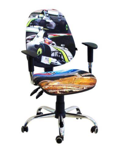 детское компьютерное кресло бридж тачки