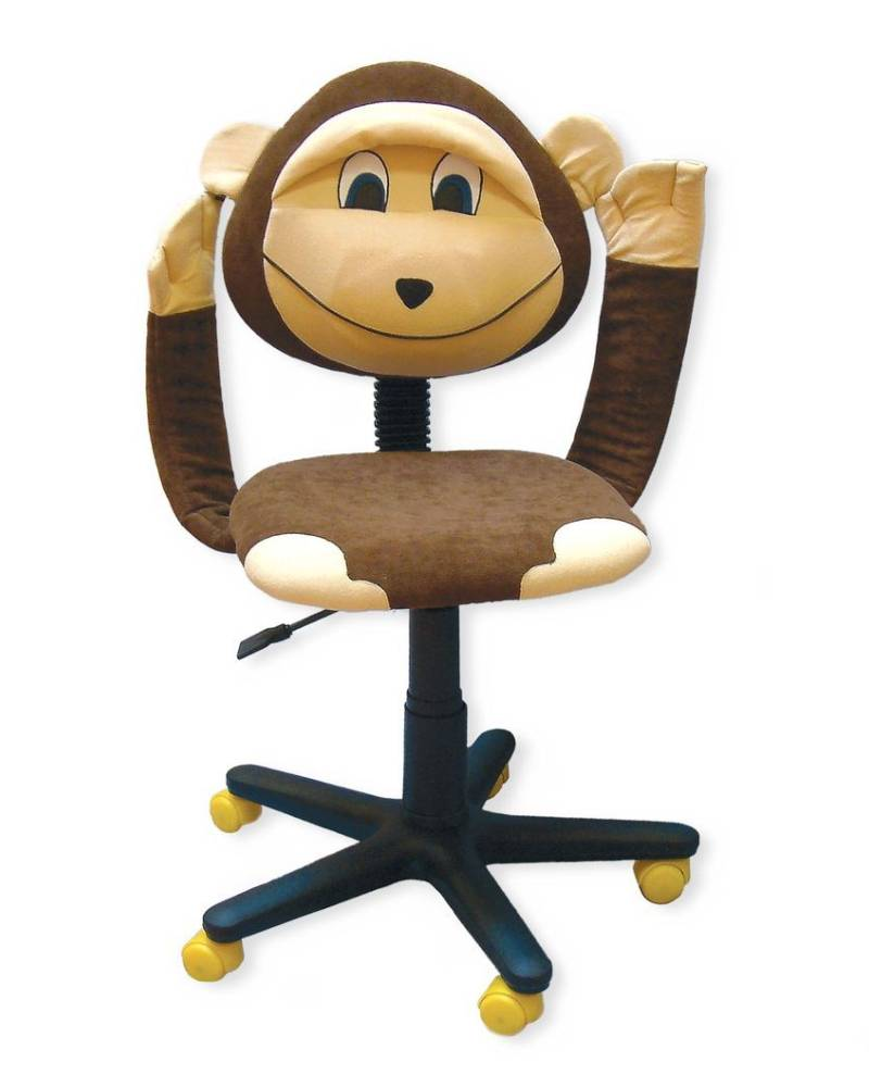 детское компьютерное кресло обезьяна