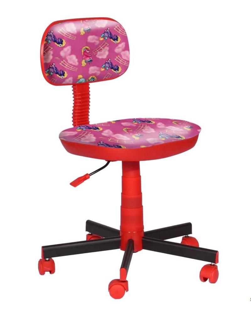 детское кресло киндер пони розовые