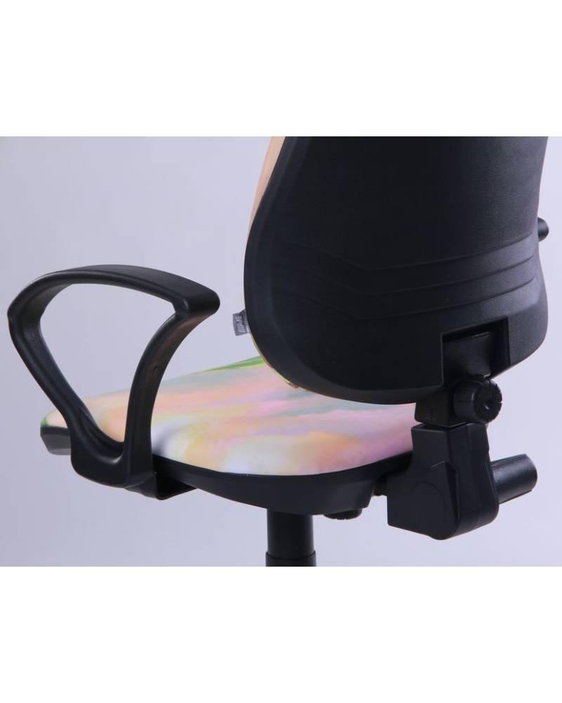 детское компьютерное кресло поло амф 4 подлокотник