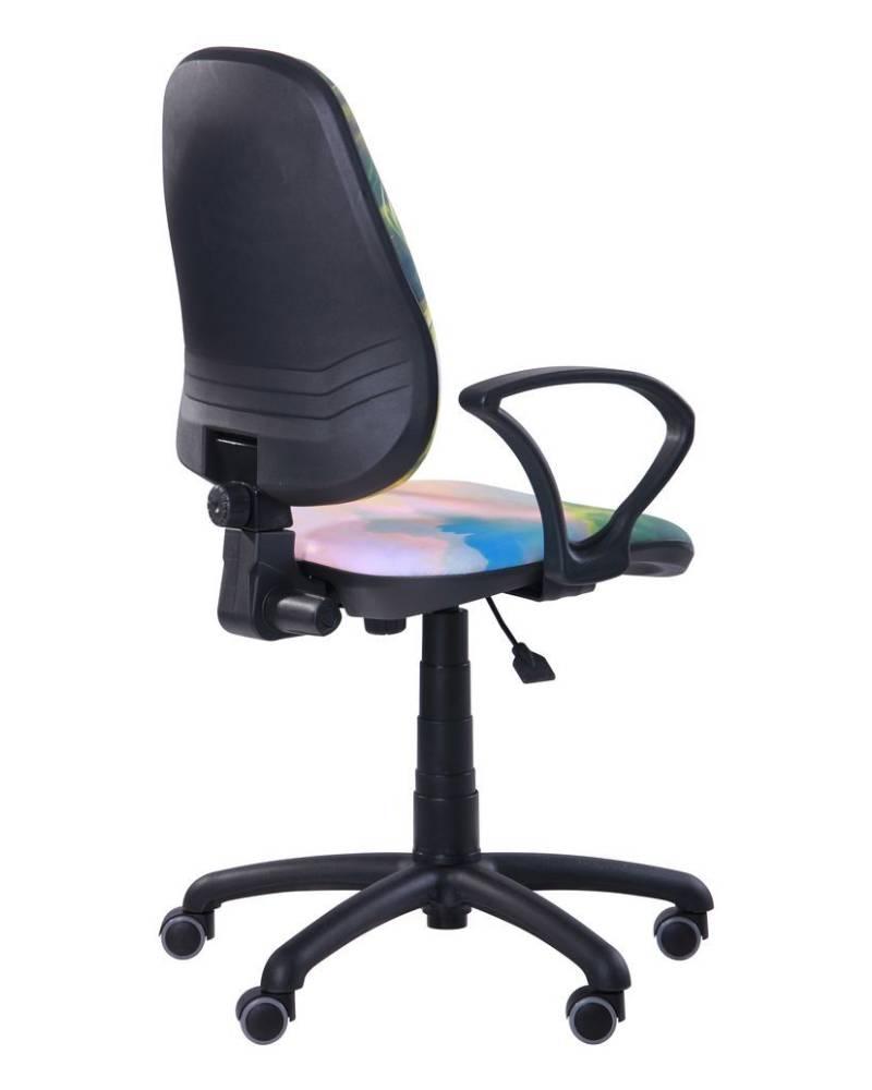 детское компьютерное кресло поло амф 4 жасмин сзади