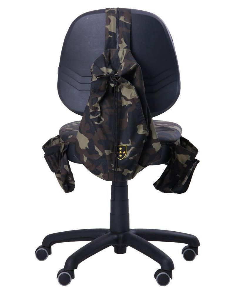 детское кресло скаут сзади