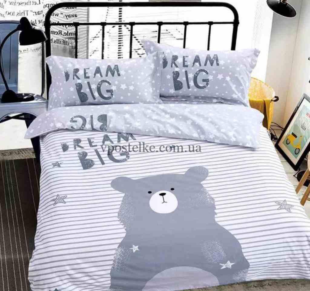 детское постельное сатин панельбольшая мечта