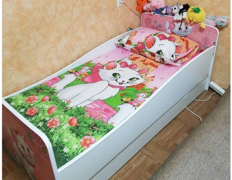 отзыв на кровать киндер с постельным бельем