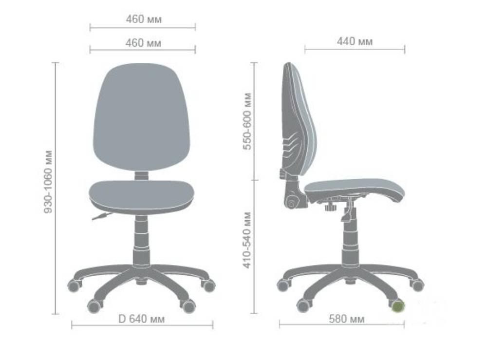 схема детского компьютерного кресла поло