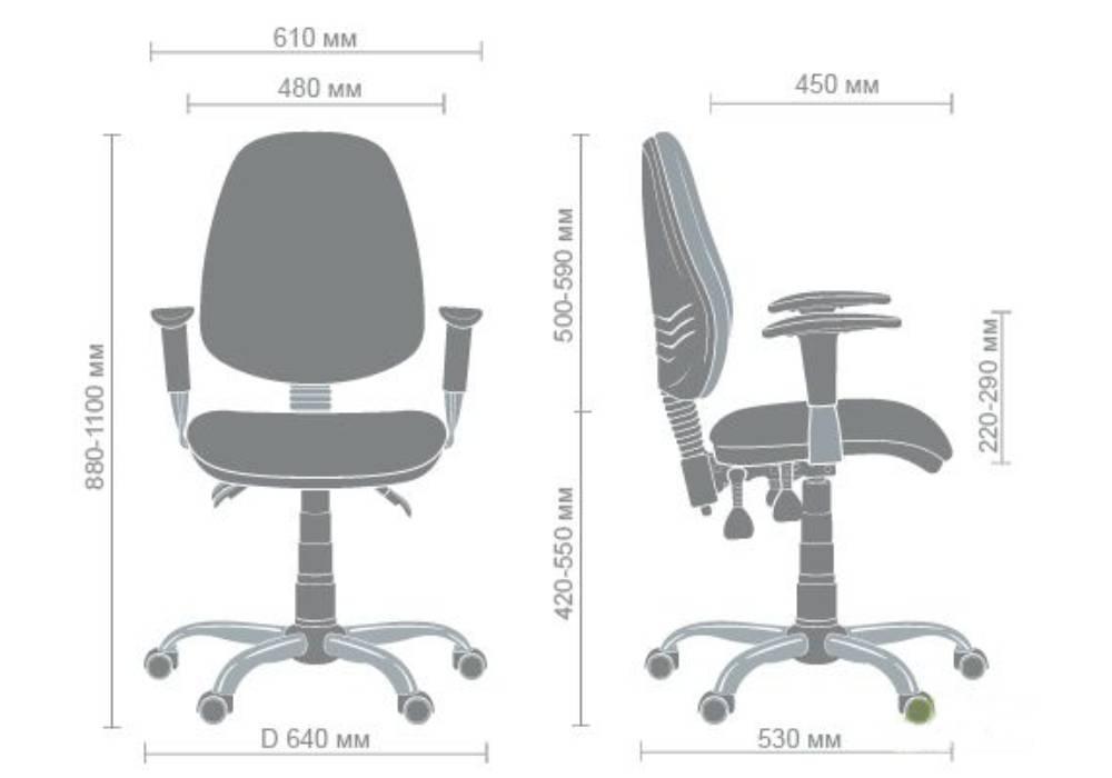 схема кресла бридж