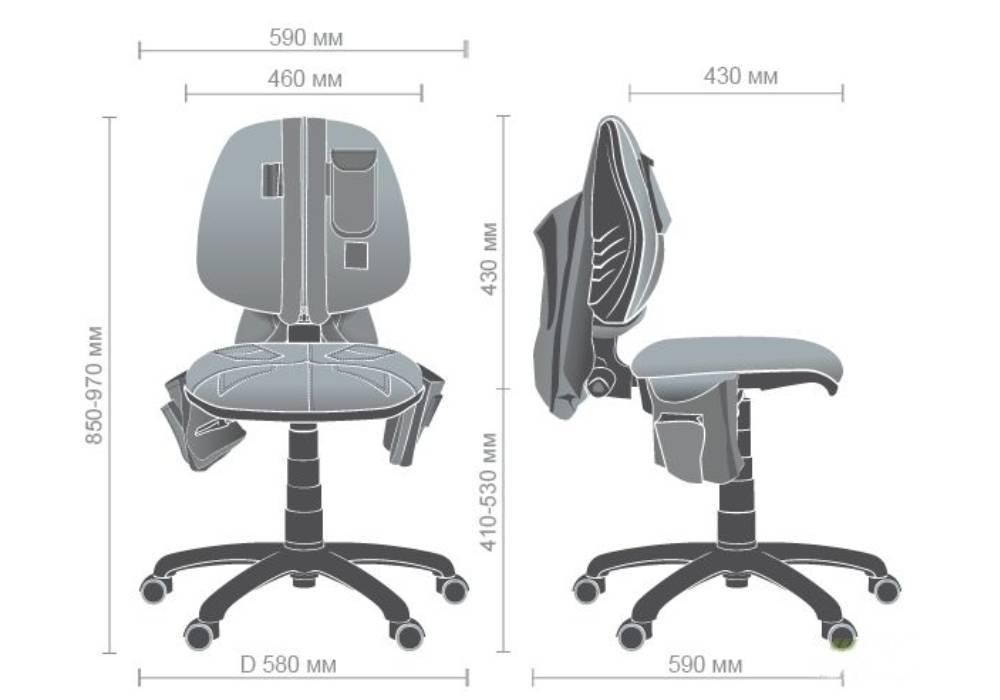 схема кресла скаут
