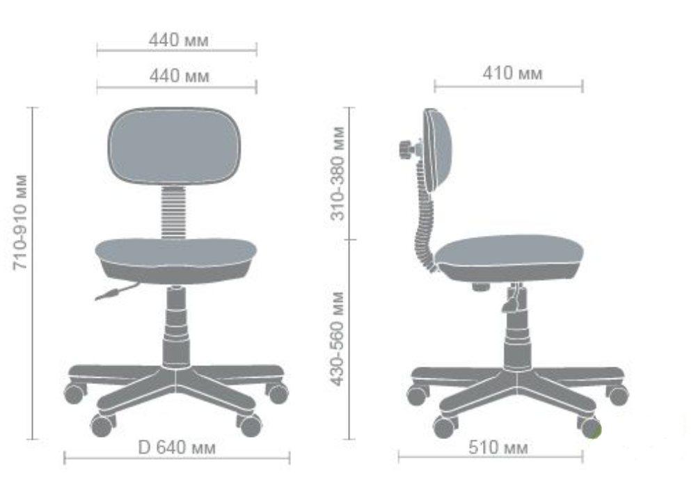 схема детского компьютерного кресла свити