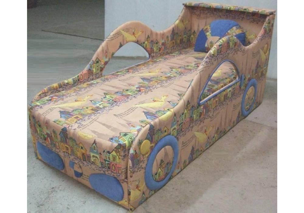 детская кровать диван бмв домики