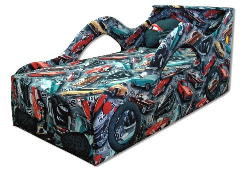 детская кровать диван бмв тачка