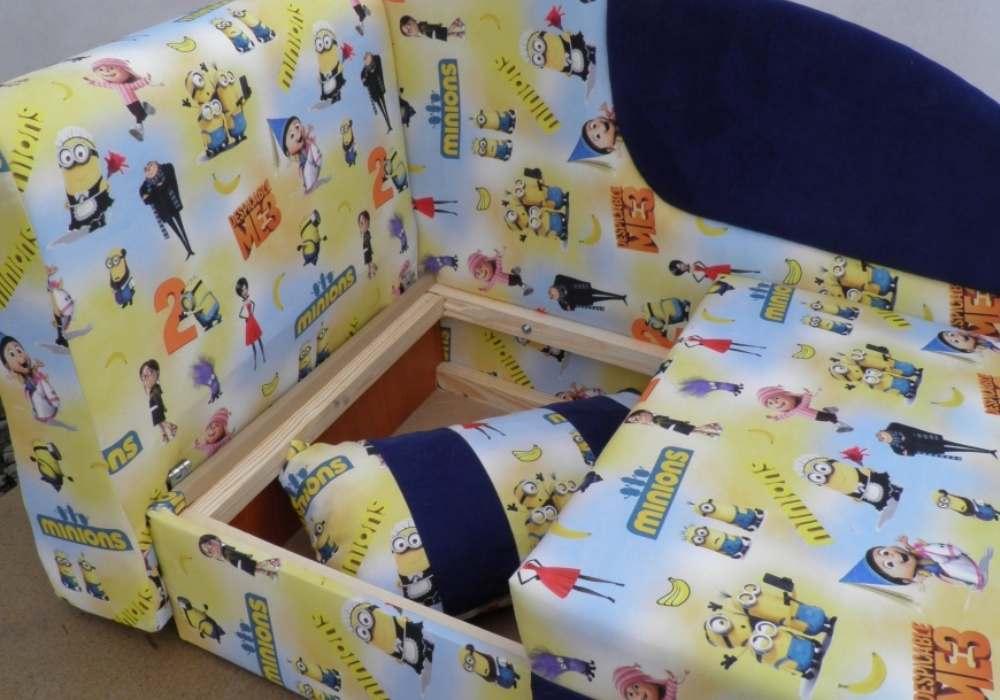 детский диван кровать чарек ниша для белья