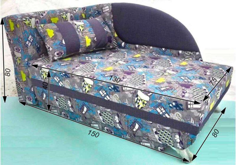 детский диван кровать чарек схема в сложенном виде