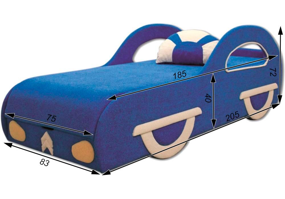 детский диван кровать машина ситроен схема