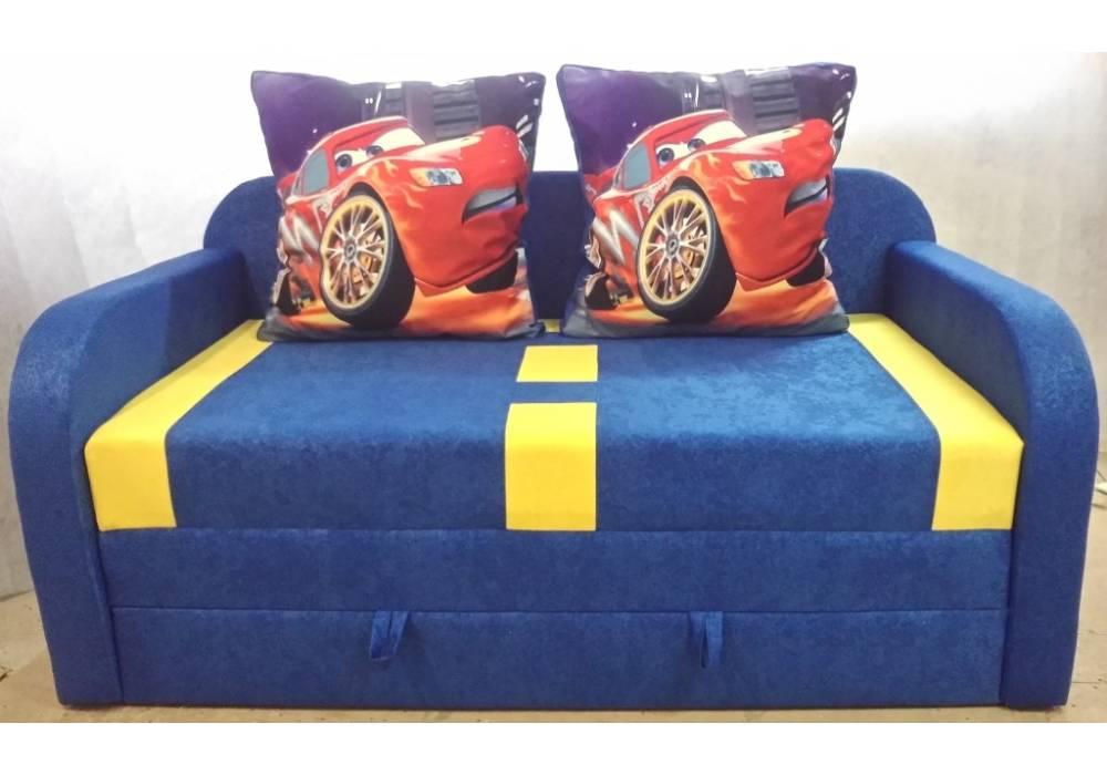 детский раскладной диван етюд тачка