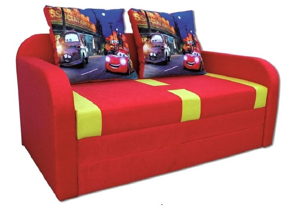 детский раскладной диван етюд тачки