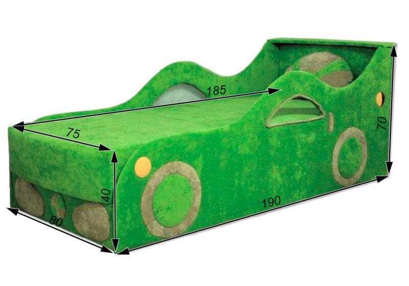 детский диван кровать машина феррари схема