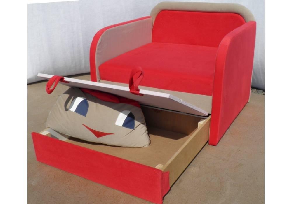 детское кресло кровать капитошка с нишей