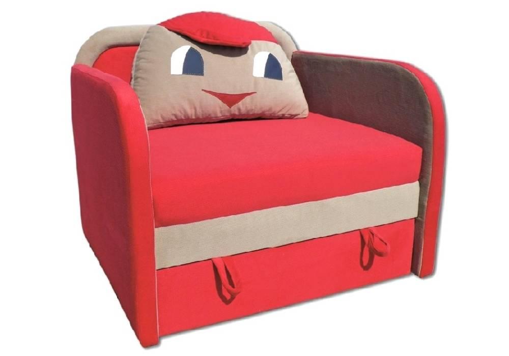 детское кресло кровать капитошка розовое