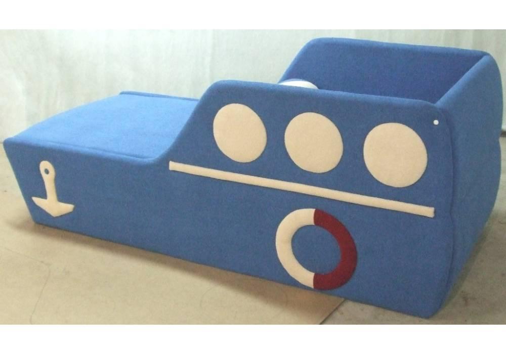 детский диванчик кровать кораблик сзади