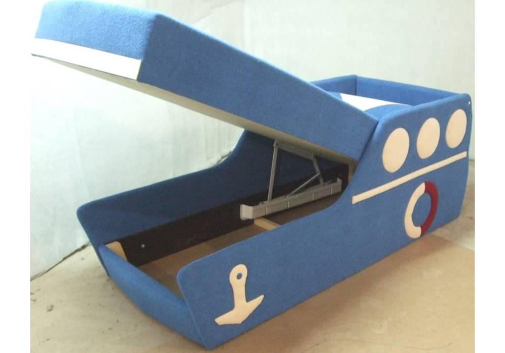 детский диванчик кровать кораблик