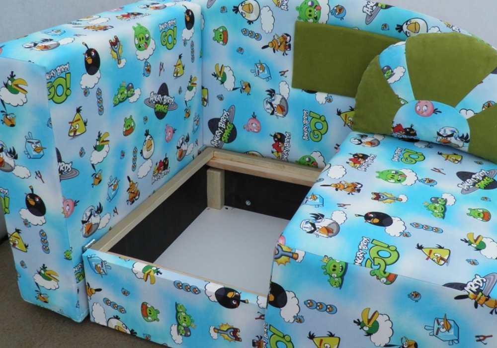 детский раскладной диванчик кровать малюх ниша