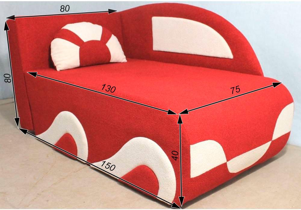 детский раскладной диванчик кровать малюх схема