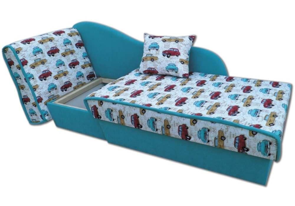 детский диванчик кровать марек в разложенном виде