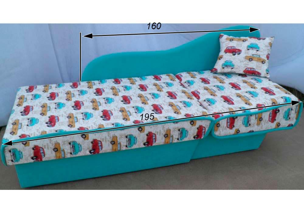 детский диванчик кровать марек схема в разложенном виде