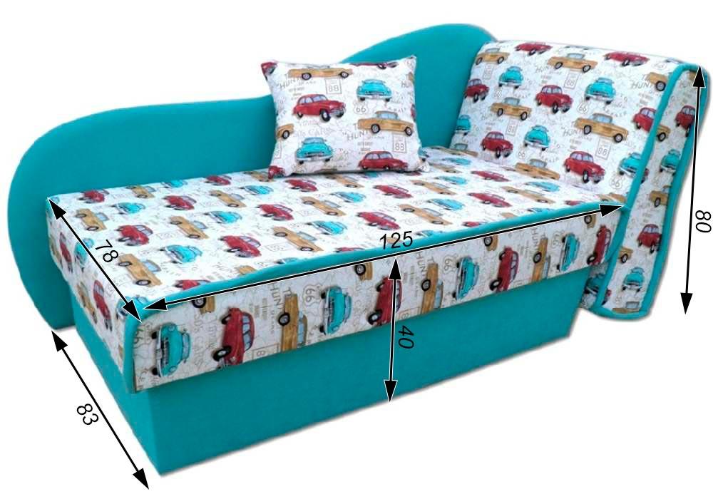 детский диванчик кровать марек схема