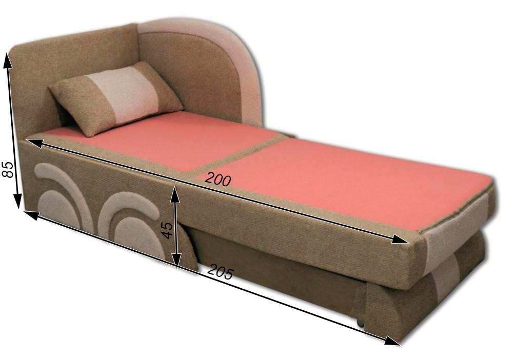 кресло кровать машинка схема в разложенном виде